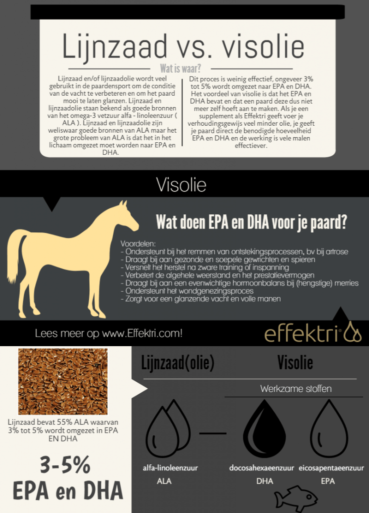 infographic lijnzaad vs visolie